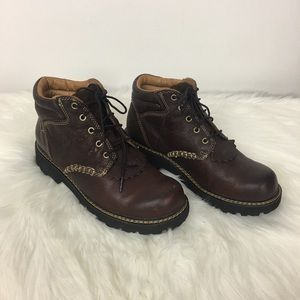 Ariat Canyon Lace up Leather Boots Size 8